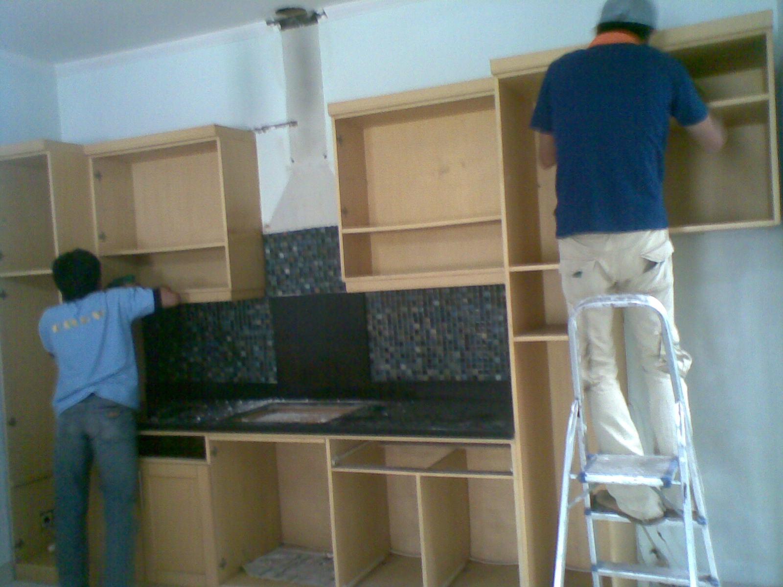 Bongkar pasang kitchen set perusahaan jasa pindahan for Harga pasang kitchen set